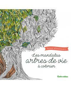 Les mandalas arbres de vie à colorier
