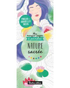 Mes marque-pages à peindre : Nature sacrée